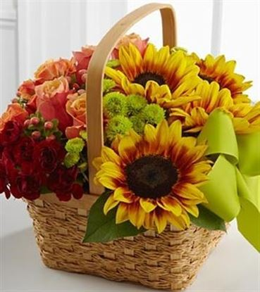 Picture of Bright Autumn Basket