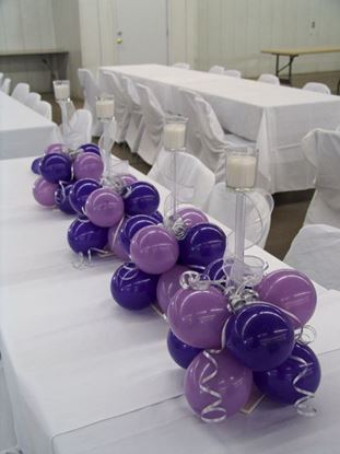 Picture of Beautiful Balloon Candlelite