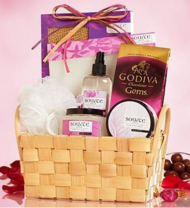 Picture of Sweet Treat and Pamper Gift Basket