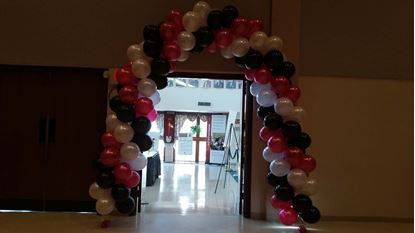 Picture of Balloon Arch ntrance